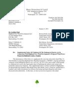 VA Wind HNWD Supplemental Notice Letter-010411