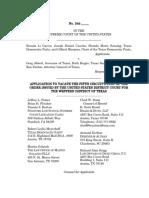 Garcia v. Abbott stay application No. 19A1055