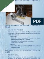 SCARA   robotic arm final