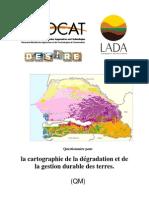 Cartograohie dégradation sols SENEGAL