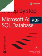 Azure Sql Database Step By Step