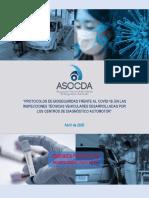 PROTOCOLO DE BIOSEGURIDAD PARA CDAs - ASO-CDA