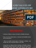 Types and Values of Bhutanese Literature (2)
