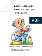 Material didactico de quimica