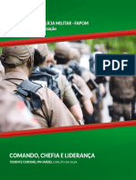 Caderno de Estudos - Comando Chefia e Liderança