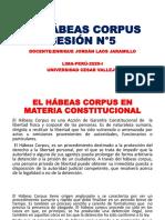 PPT-N°5-EL HÁBEAS CORPUS-