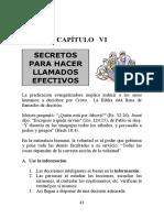 6 secretos para hacer llamados efectivos, cap  6