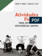 ATIVIDADES FÍSICAS PARA JOVENS COM DEFICIÊNCIAS GRAVES