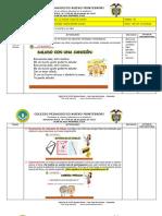 PLANEACIÓN SEMANA 2 CASTELLANO GRADO PRIMERO-SEGUNDO PERIODO 2020