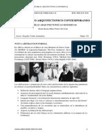TEORIAS ARQUITECTONICAS MODERNAS