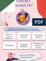 ELEMENTOS GÉNERO DRAMÁTICO