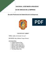ANALISIS LITERARIO DEL LIBRO LA VACA (CAMILO CRUZ)