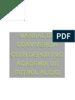 REGLAMENTO CLUB DEPORTIVO ACADEMIA DE FUTBOL ALEJO pdf