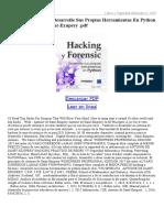 Hacking-Y-Forensic-Desarrolle-Sus-Propias-Herramientas-En-Python