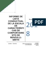 INFORME DE LISTA CONDUCTUAL DE LA ESCALA DE CARACTERÍSTICAS DE COMPORTAMIENTO DE RENZULLI.docx