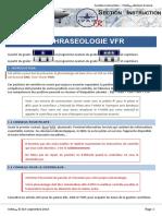 Phraséologie Aéronautique VFR