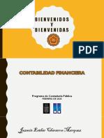 SESIÓN No 1 MARCO CONCEPTUAL Y NORMATIVO DE LA CONTABILIDAD