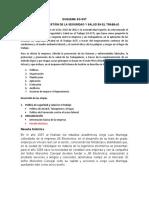 trabajo SISTEMA DE GESTIÓN DE LA SEGURIDAD