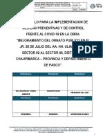 PROTOCOLO DE PREVENCION ULIACHIN-COVID19