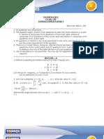 math ques