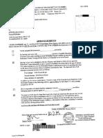Affidavits from Karl Stephens and Matthew Buck