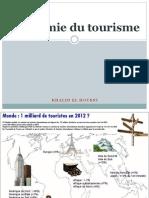 Economie Du Tourisme 1