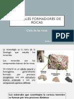 Clase 8_Minerales y Ciclo de las rocas
