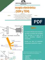 Exposición 2- SEM y TEM