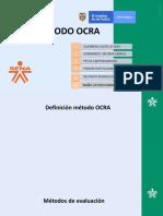 METODO OCRA 2