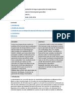 Modelo de proyectos de evaluación de riesgo en generación de energía térmica