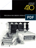 Atari 410 Program Recorder Operator's Manual (Atari)