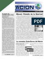 Boletin oficial del Partido Nacionalista Democratico de Cuba, Número 2; Año 1