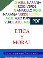 ETICA Y MORAL 2019