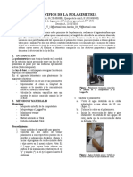 PRINCIPIOS DE LA POLARIMETRIA
