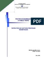 Routes Economiques Faible Tra