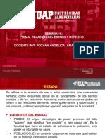 SEMANA 4-RELACIÓN DEL ESTADO Y DEL DERECHO