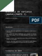 Presentacion Analisis de Varianza Parte 1 (ANOVA)