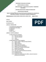 ÍNDICE (plan de contnido de INV. de Mercado DE maestria.).