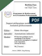 21. Automatisme industriel_Travaux pratiques sur le rebobinage dun moteur asynchrone monophasé et triphasé et de réparation (Niveau de base).pdf