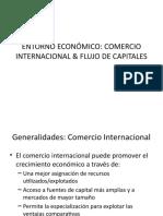 ENTORNO ECONÓMICO Comercio y flujos de Capital