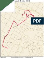 Roadnet Map 663 L