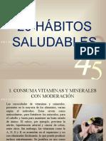 20 HÁBITOS SALUDABLES