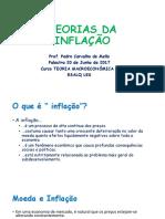Junho 20 2017 - ESALQ LES Macroeconomia Pedro Mello TEORIAS INFLAÇÃO