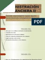 MATERIAL I PARCIAL ADMINISTRACIÓN FINANCIERA II