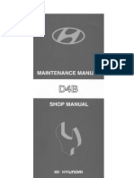 Hyundai D4BB