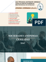 TSA_GRUPO_2_SOCIEDAD ANONIMA CERRADA.pptx