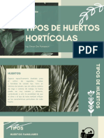 TIPOS DE HUERTOS HORTÍCOLAS
