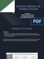 ENSAYO  DE COMPACTACIÓN NORMAL Y MODIFICADO