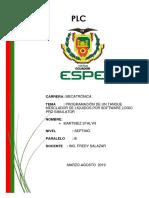 informe plc batch