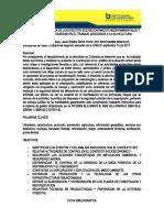 Ficha Bibliografica - Proyecto Integrador